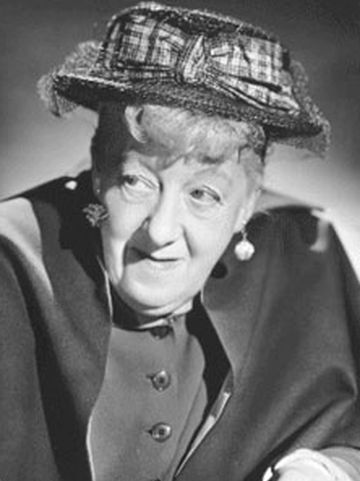 Margaret rutherford for Miss marple le miroir se brisa